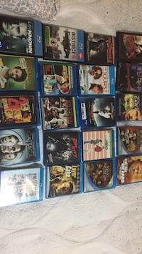 Assorted blue ray movies Coquitlam, V3K 1N6