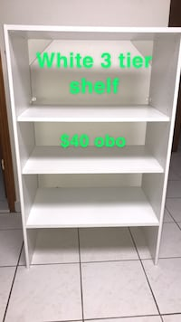 Shelf (3 tier)