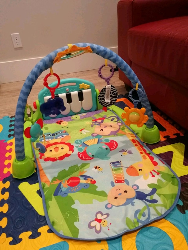 fisherprice baby piano gym