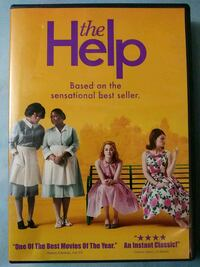 The Help dvd