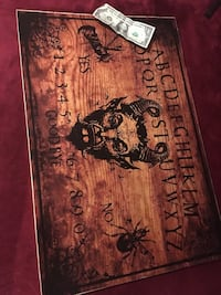 CUSTOM wooden OUIJA board Chicago, 60641