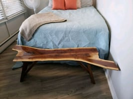 Hand crafted bench/ coffee table/ end of bed table
