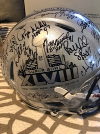 NFL AUTOGRAPHED FULL SIZED HELMET , $450 - OBO Seymour, 06483