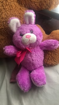 pink and white bear plush toy Syracuse, 13207