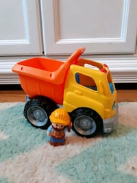 Little People Dump Truck and Worker