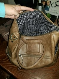 brown leather 2-way bag Connersville, 47331
