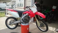red and white motocross dirt bike Keyport, 07735