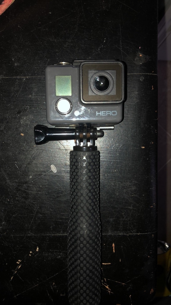 black and gray GoPro Hero action camera for sale  Sarasota