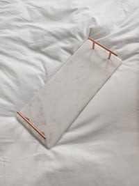White Marble Serving Tray 2229 mi