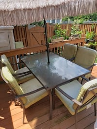 Patio Table set with 6 chairs  Odenton, 21113