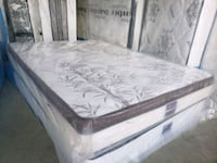New Double mattress pillowtop.no springs. Delivery 40 Edmonton, T5H 4J7