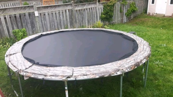 white and black above ground pool