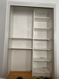 "Closet organizer shelf 85.5 x 54""   I have another one too Bridgewater Township, 08807"