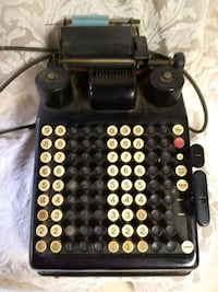 Antique Burroughs adding machine Fairfax, 22033