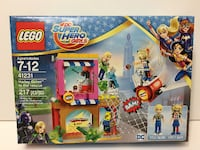 LEGO DC Super Hero Girls Harley Quin to the rescue 41231