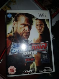 WWE smackdown vs Raw 2009 wrestling Nintendo Wii