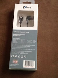 black and gray Bluetooth earphones box Edmonton, T5T 1A3