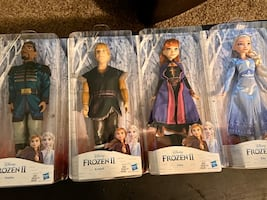 Frozen 2 character dolls- brand new and unopened!