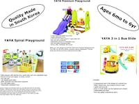 Really Cool YAYA 3 Tier Playground Set, Indoor or Outdoor Tampa