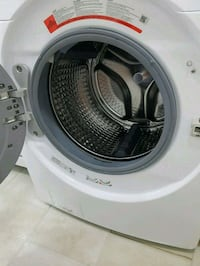 white front-load clothes washer Toronto, M3N 2R4
