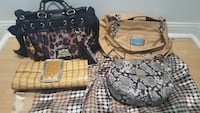 Juicy Couture, Liz Claiborne, aldo bags