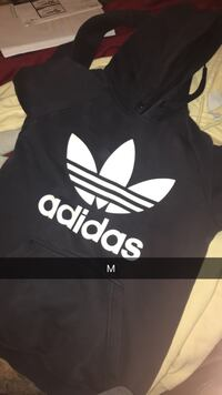 black and white Adidas pullover hoodie Kelowna, V4T