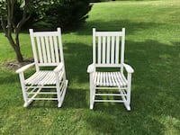 White rocking chairs  Middletown, 21769