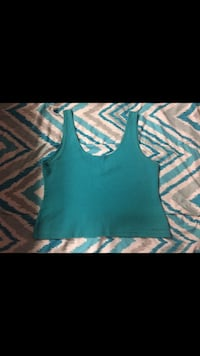 Teal Crop Top  758 mi