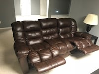Leather recliner couch New Market, 21774