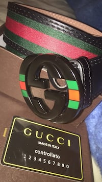 Black red and green Gucci belt East Orange, 07018