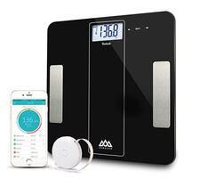 Bluetooth Smart Body Fat Scale,FDA Approved,Body Composition Monitor with Body Tape Measure,Digital