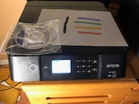 Color Inkjet almost new Epson XP 6100 Silver Spring