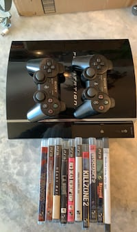 PS3 Game console, controllers and games