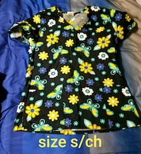 black and green floral crew-neck shirt Killeen, 76542