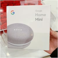 PRICE IS FIRM, PICKUP ONLY - Google Home Minis in Charcoal and Chalk  Toronto, M4B 2T2