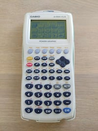 Casio fx-9750G PLUS Grafisk kalkulator Oslo, 0484