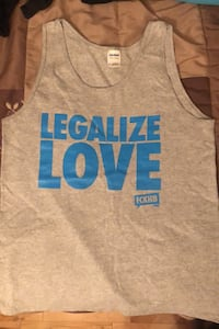Legalize Love tank -Brand New