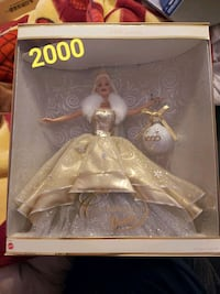 Collectable holiday barbies