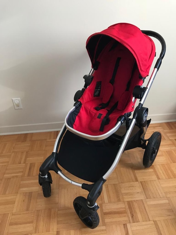 City Select Red Stroller