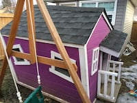 Fully done playhouse custom made/serious buyers ONLY Edmonton, T5W 0P7