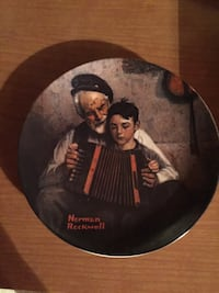 "Vintage Collectable Plate ""Music Maker"""