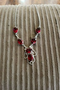 Costume cz red and silver Thornton
