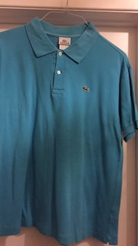 Turquoise Lacoste polo shirt 729 km