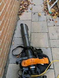 Out door leaf cleaning service
