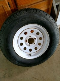 Trailer spare tire Middlefield, 44062