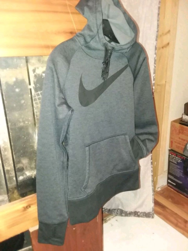 0534aa48f Used gray and black Nike pullover hoodie for sale in Willmar - letgo