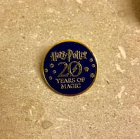 Exclusive Harry Potter pin - 20th anniversary