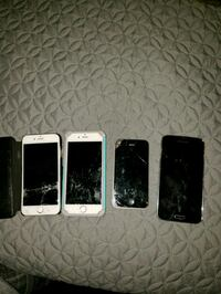 four assorted color iPhone's Rancho Cordova, 95670