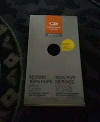 Brand New in box merino wool base layer bottoms I Surrey, V3S 5K4