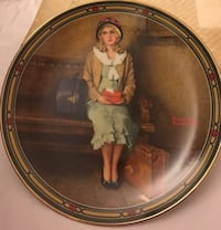 "Norman Rockwell's ""A Young Girl's Dream Dream"" plate. Collegeville, 19426"